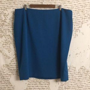 Teal Jones Studio Pencil Skirt